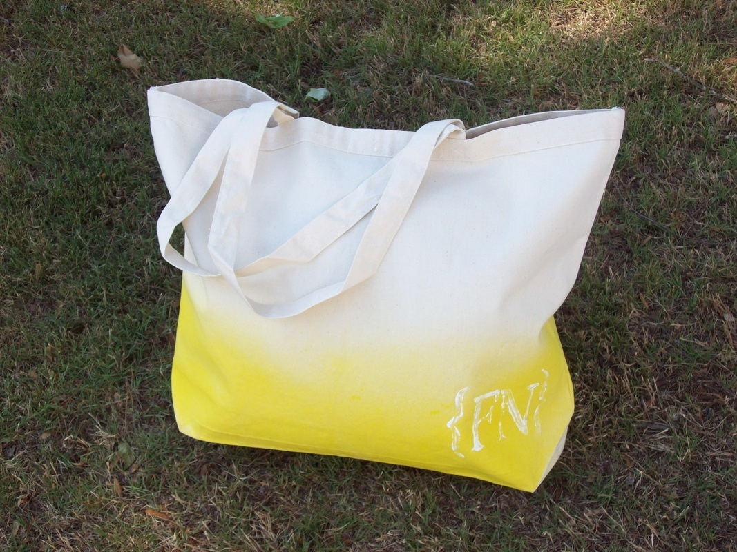 The Fashionable Notes Bag - Yellow